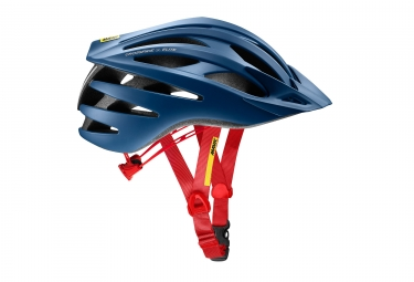 casques vtt mavic crossride sl elite bleu rouge m 54 59 cm
