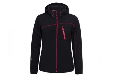 Icepeak Lessie Women Softshell Jacket Black Pink