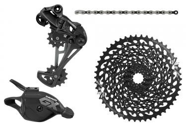SRAM GX EAGLE 12 Speed Mini Groupset - Black (Crankset not included)