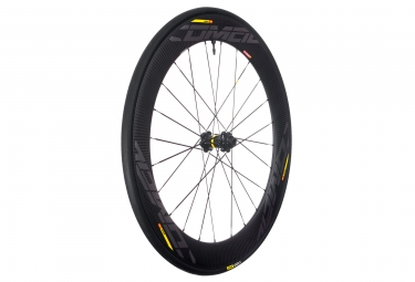 Mavic 2018 roue avant comete pro carbon sl ust disc center lock 12 x 100 mm
