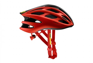 casques route mavic cosmic ultimate ii rouge noir l 57 61 cm