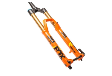 fourche fox racing shox 36 float factory fit hi low comp 27 5 boost 15x110 orange 2018 180