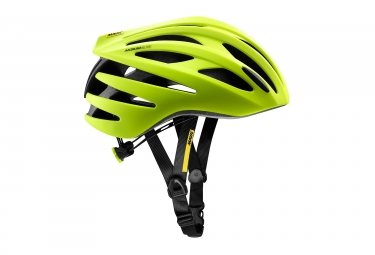 casques route mavic 2018 aksium elite jaune s 51 56 cm
