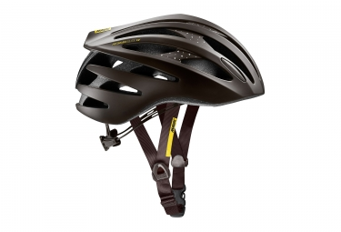 Casques Route Femme MAVIC 2018 AKSIUM ELITE Marron Jaune