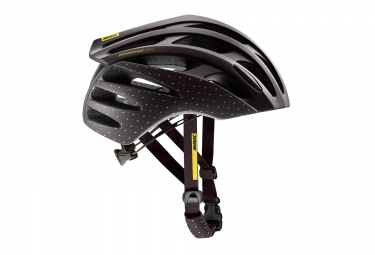 Women Road Helmet MAVIC ECHAPPEE PRO Brown Yellow
