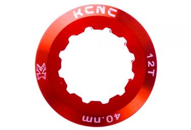 ecrou de cassette kcnc shimano 12 dents rouge