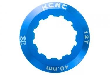 ecrou de cassette kcnc shimano 12 dents bleu