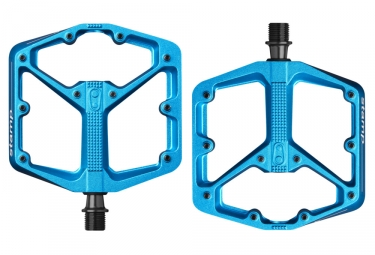Paire de Pedales Plates CRANKBROTHERS STAMP 3 Bleu
