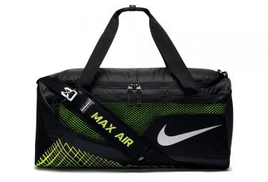 sac de sport nike vapor max air noir jaune 57l
