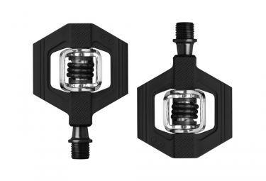 Pair of Crankbrothers Candy 1 Pedals Black