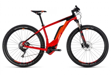 vtt electrique semi rigide cube reaction hybrid race 500 27 5 plus shimano xt 11v ro