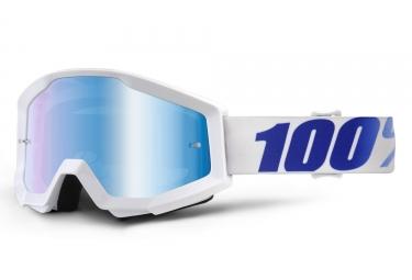 Masque 100 strata equinox blanc ecran bleu iridium