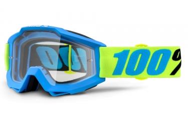 Masque 100 accuri belize bleu vert ecran transparent