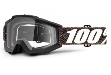 Masque 100% Accuri Krik Noir Ecran Transparent