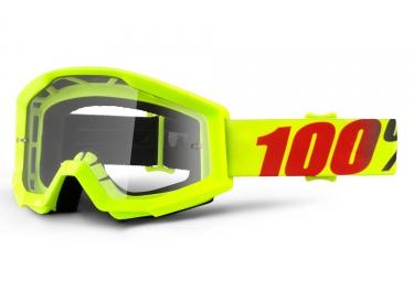 masque 100 strata mercury jaune fluo ecran transparent