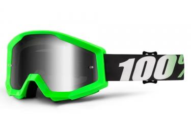 masque 100 strata arkon vert fluo ecran chrome iridium