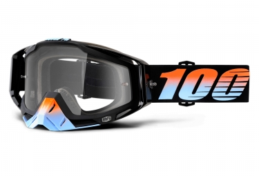 masque 100 racecraft starlight noir ecran transparent