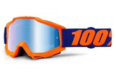 masque 100 accuri origami orange bleu ecran bleu iridium adulte