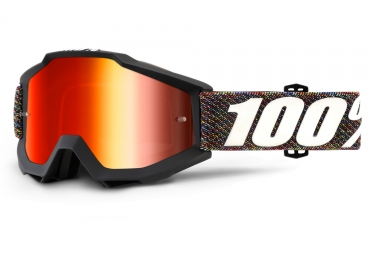 masque 100 accuri krik noir ecran rouge iridium