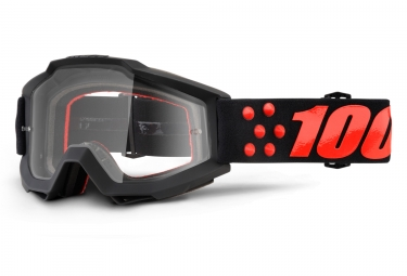 Goggles 100% Accuri Gernica clear black