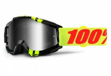 masque 100 accuri zerbo noir ecran chrome iridium