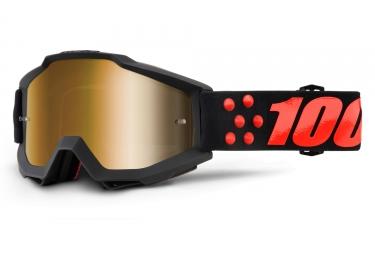 masque 100 accuri gernica noir ecran bronze iridium