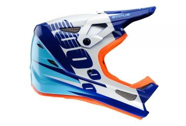 casque integral 100 status kelton bleu m 57 58 cm