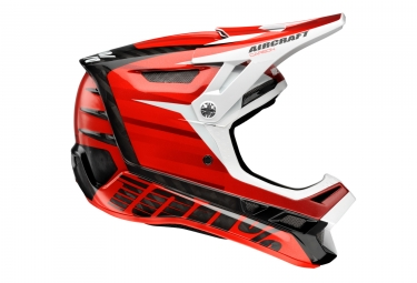 Casco Integral 100% Aircraft Dexter Rouge