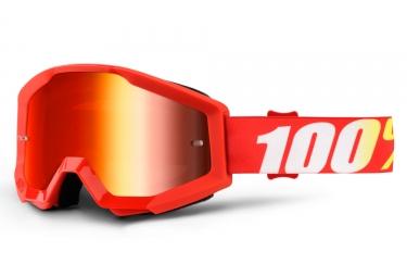 Masque Enfant 100% Furnace Rouge Ecran Rouge Iridium