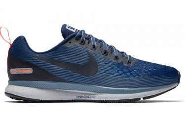 Nike air zoom pegasus 34 shield bleu homme 45 1 2