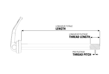 Rocksox Rear Maxle Stealth Boost 12x148mm (Trek ABP/Split Pivot)