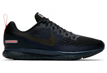 nike air zoom pegasus 34 shield noir bleu homme 42 1 2