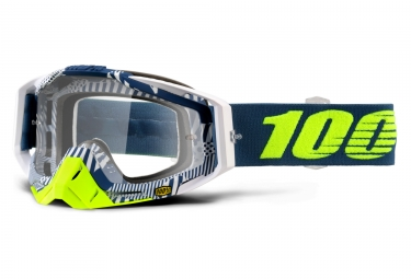 masque 100 racecraft eclipse bleu ecran transparent