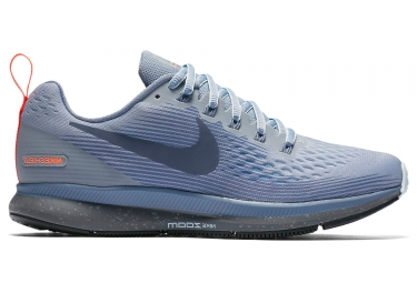 Nike Air Zoom Pegasus 34 Shield Grey Blue Women