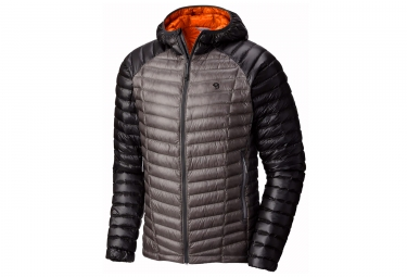 Veste a capuche mountain hardwear ghost whispere down gris xl