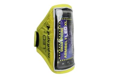 Brassard smartphone raidlight xl led jaune