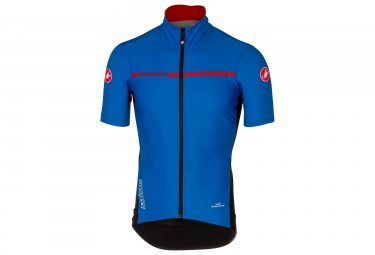 castelli perfetto light 2 short sleeves jersey blue l