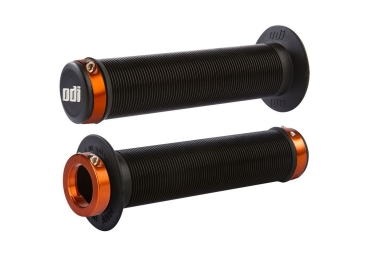 Poignees odi longneck lock on noir orange 130