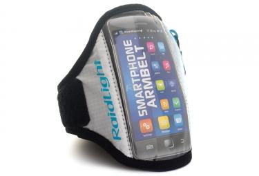 brassard pour smartphone raidlight blanc bleu