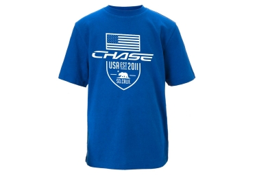 t shirt chase blason bleu l