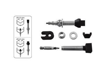 Valves Effetto Mariposa Tubeless 100 mm x2 (paire)