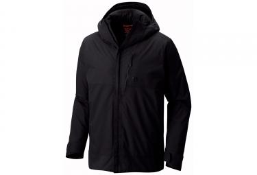 veste a capuche mountain hardwear 32 insulated noir l