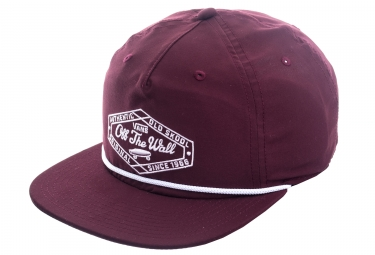 Casquette Vans Original Lock Up Rouge
