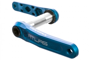 Manivelles race face atlas cinch direct mount sans boitier bleu 175