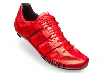 Chaussures route giro prolight techlace rouge 45
