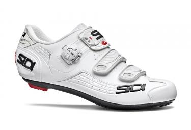 paire de chaussures route sidi 2018 alba blanc 44