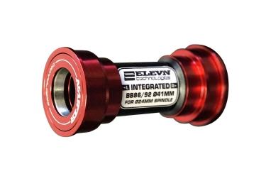 boitier de pedalier press fit elevn pf24 86 92mm rouge