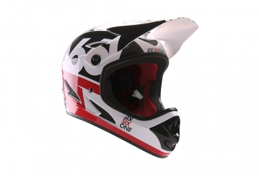Casque integral 661 comp noir blanc rouge l 59 60 cm