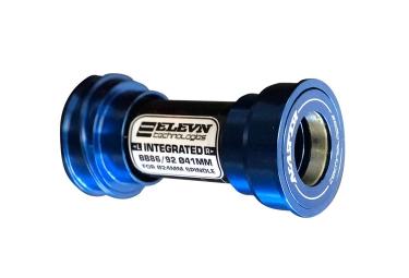 boitier de pedalier press fit elevn pf24 86 92mm bleu