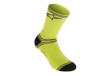 chaussettes alpinestars winter jaune noir 39 42